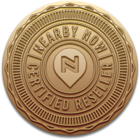 Nearby Now Certified Resellers Seal